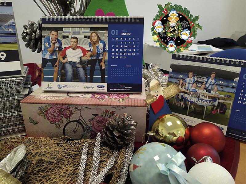 Calendarios Solidarios Adimi Málaga CF